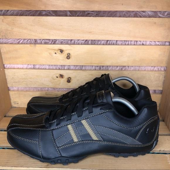skechers memory foam sneakers mens